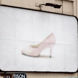 Vintage Shoe Campaign, Division of Vintage, 2017, Outdoor Billboards, Vancouver, Canada.