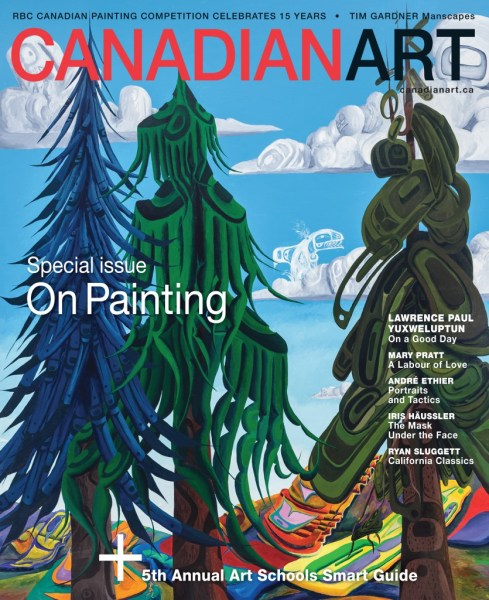 Lawrence Paul Yuxweluptun for Canadian Art