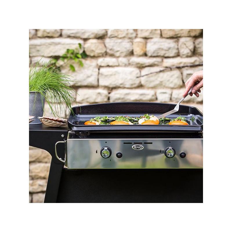 barbecue plancha a poser au gaz en