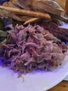 Pork at 'Cue Barbecue