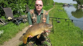 A New Carp PB - 14.02, Grand Union Canal, May 2012