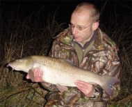 Another Thames PB for Andy, 11.05, 2009 Andy caps a fine autumn run with yet another PB, this one from the Thames, at 11.05