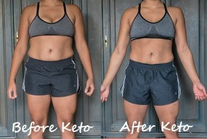 keto diet results front