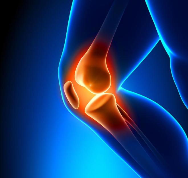 Knee pain from squats graphic