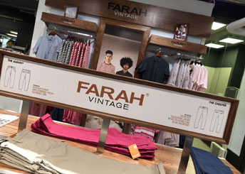 Farah Vintage at House of Fraser