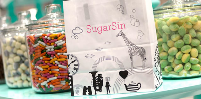 SugarSin London retail design