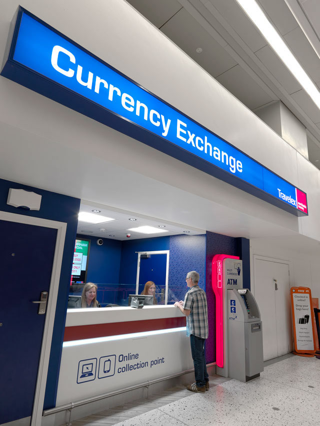 Travelex Manchester Airport