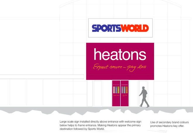 part of the visual design portfolio by Barber for Heatonse
