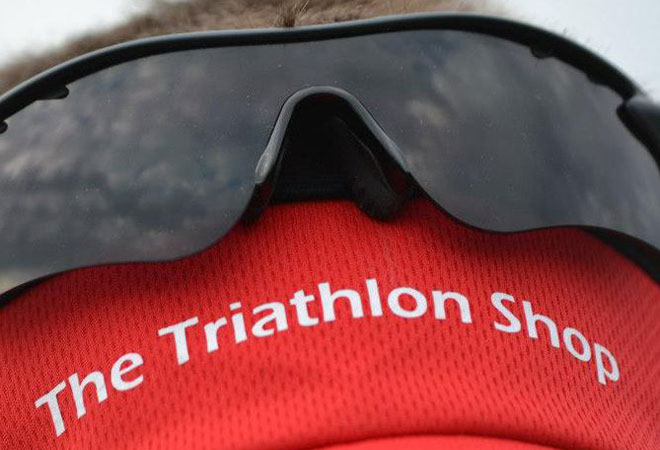 The triathlon shop is in Bristol