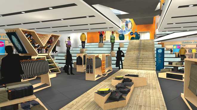 Discovery Expedition store interior