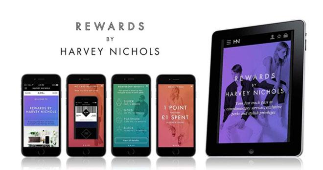 Havey Nichols takes their customer loyalty scheme digital