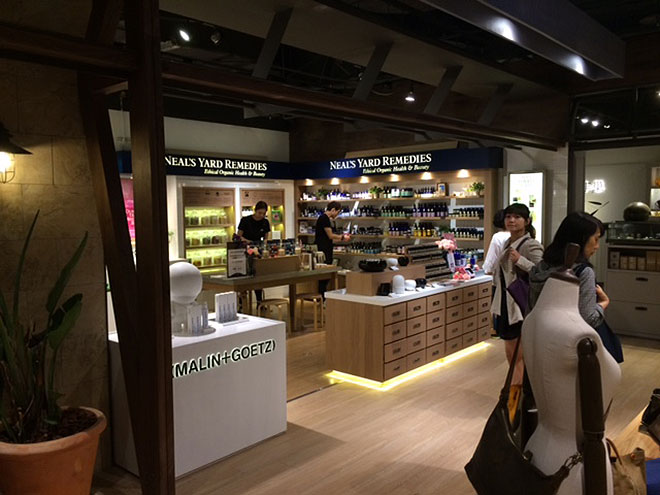 Inside the new Neals Yard remedy store