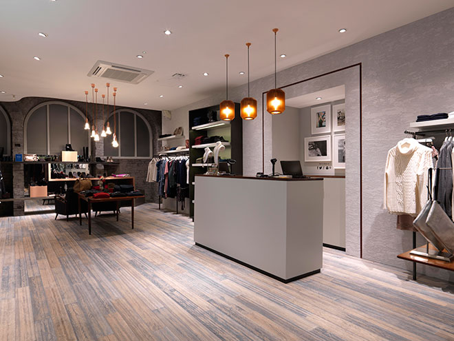 Barber will be exhibiting recent work at the Retail Design Expo
