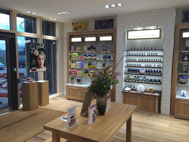 Neals Yard retail store design