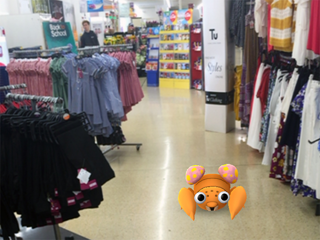 Digital retail marketing - a Paras Pokemon rolling in the aisles in Sainsburys
