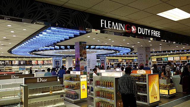 Flemingo Departures duty free