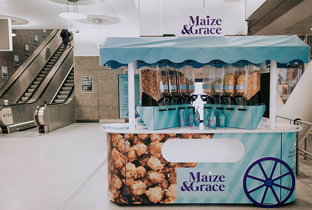 Maize and Grace London popcorn startup
