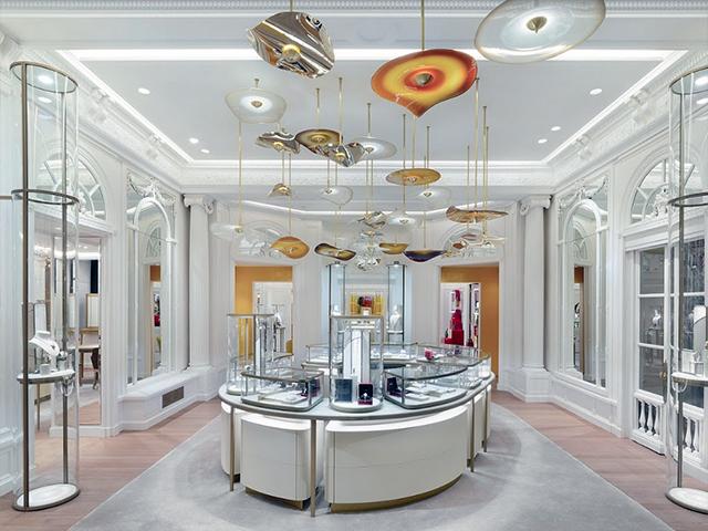 Cartier store interior. New Bond Street