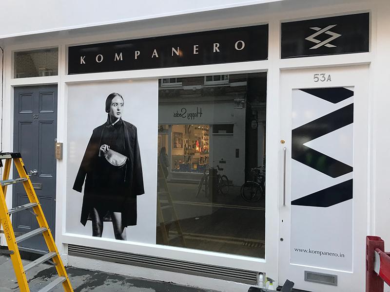 Kompanero store front, Covent Garden