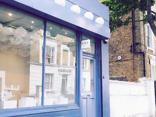 Ora Pearls store in Chelsea