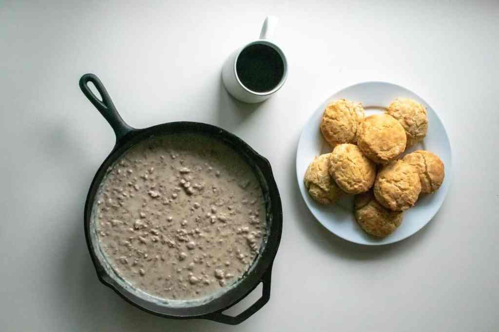 Southern Biscuits & Gravy