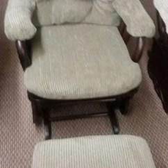 Glider Chair With Ottoman India Marble Rail C8107 C0090e Rocker W Best
