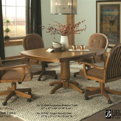 Swivel Dining Room Chairs Chair And Half With Ottoman Sleeper 214620 Brooks Laminate Table 21518c Roller