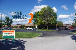 Image of new location for TFD Supplies at 13 Executive Drive, Fairview Heights, IL.