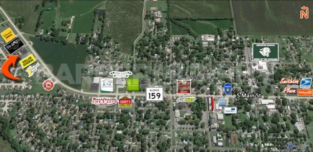 Area Map of 4017 IL Route 159, Smithton, IL 62285