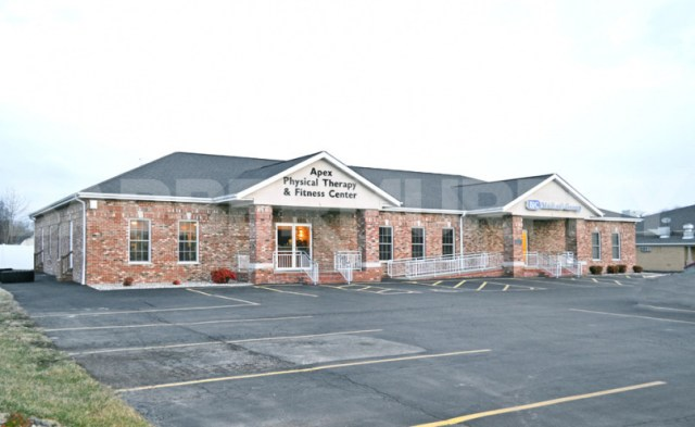 Exterior Image of Medical Office Building for Sale, NNN Investment Property, Fully Leased Office Building, Southern Illinois