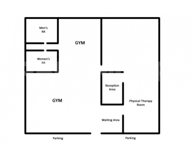 Floor Plan for Apex Therapy Side