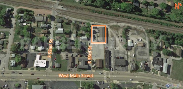 Site Map for Fully Leased 17 Unit Apartment Building for Sale, 23 South 53rd, Belleville, Illinois 62226