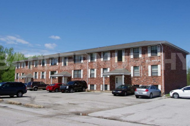 Exterior Image of Complex for Fully Leased 17 Unit Apartment Building for Sale, 23 South 53rd, Belleville, Illinois 62226