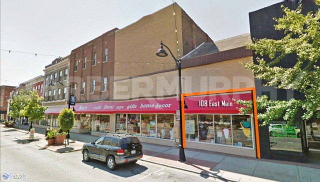 Exterior Image of Building for Retail/Office Space for Lease, Downtown Belleville, Ben's, East Main St., Belleville, IL 62220