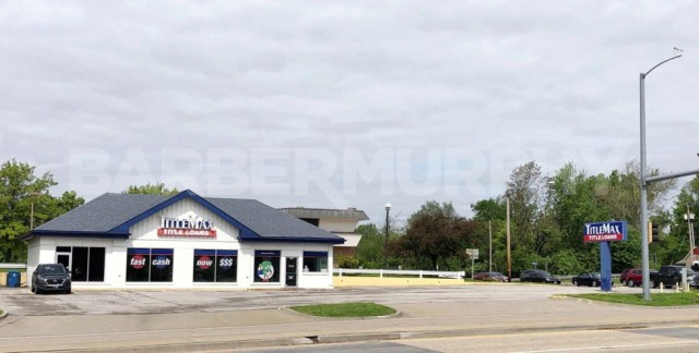 Building Image for Investment Property - 1,827 SF Office Building , TitleMax, NNN Investment, 1718 North Illinois St, Swansea, Illinois