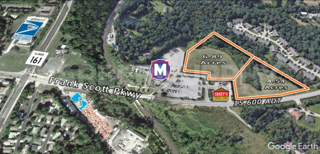 Site Map for Mixed Used Development Site, Commercial | Multi-Family Sites