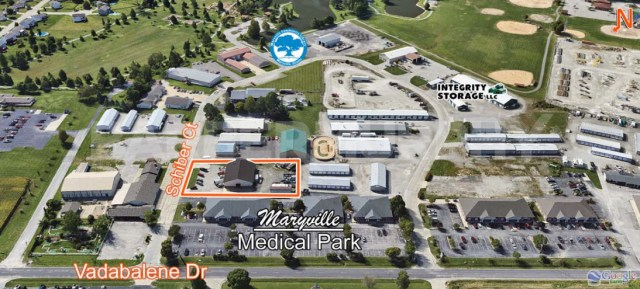 Site Map for 18 Schiber Crt, Maryville, IL 62062