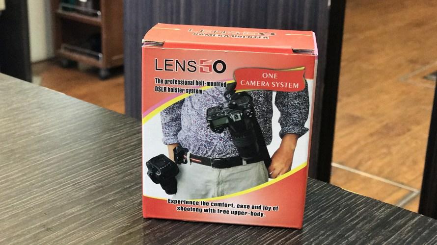 Amazonでカメラアクセサリー買ってみた!【TARION LYNCAウエストカメラホルダー】