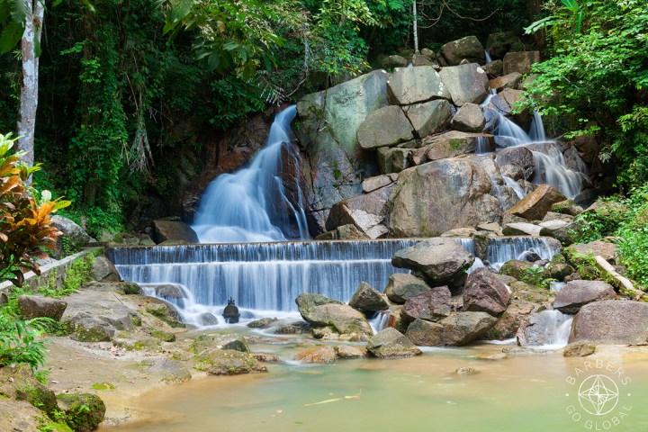 Kathu Waterfall in Phuket, Thailand