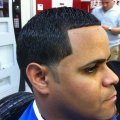 Out haircut also known as the temple fade brooklyn fade and low fade