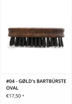Bartbürste