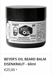 Beyer´s Oil Bartbalm