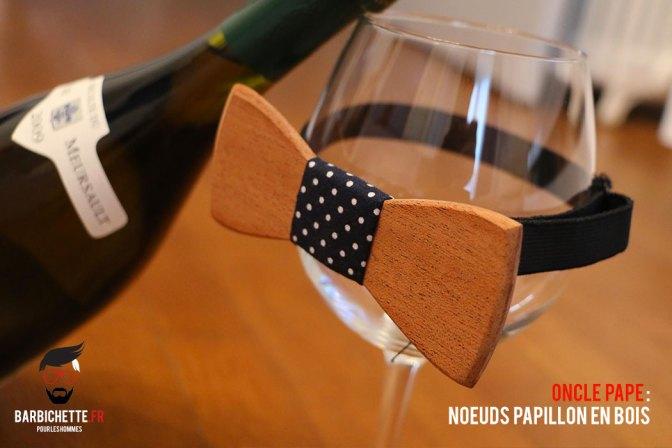Oncle Pape - Le Noeud Papillon en Bois