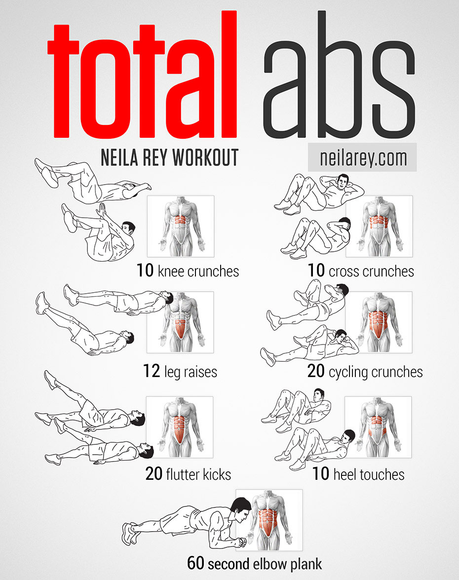 Musculation abdominaux : programme d'exercices
