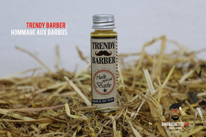Trendy Barber - Huile pour barbe