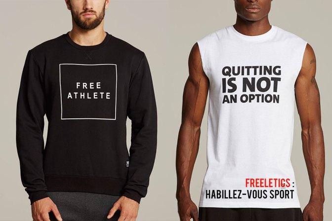 Vêtements Freeletics - TShirt et Débardeurs
