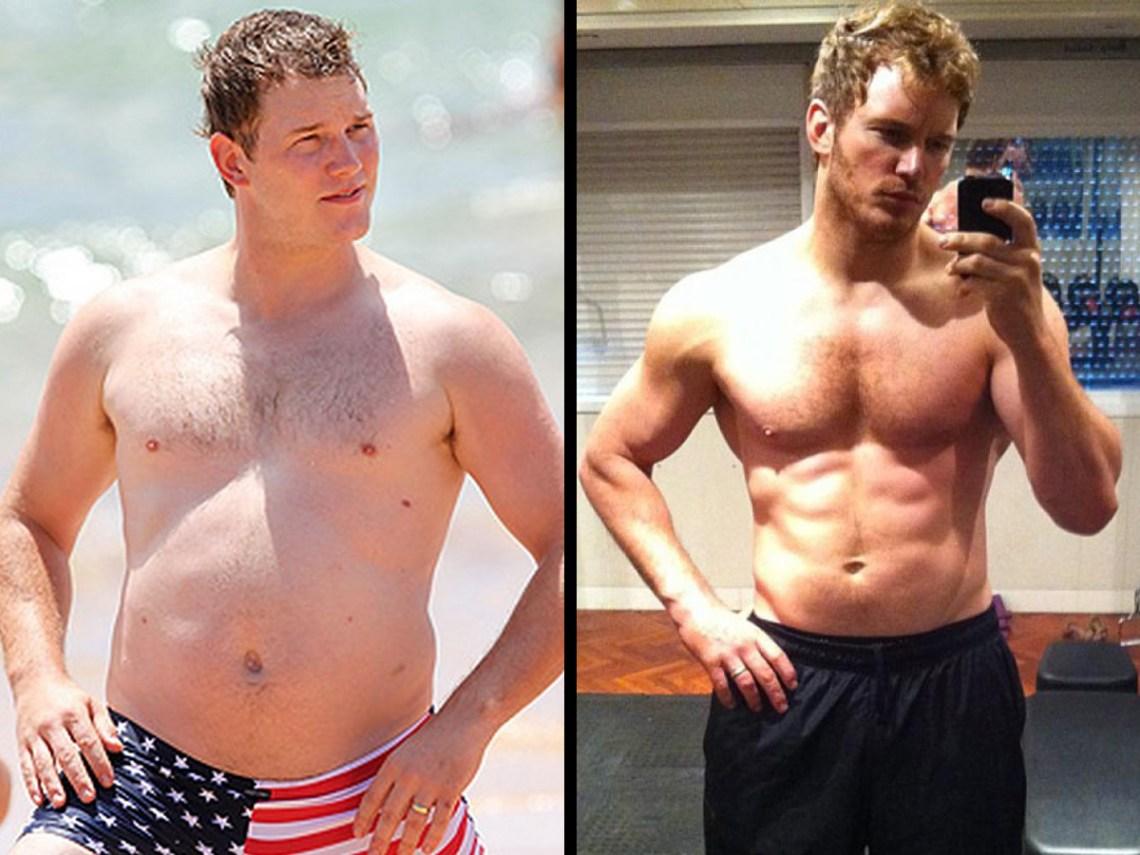 Chris Pratt - Prise de Muscles