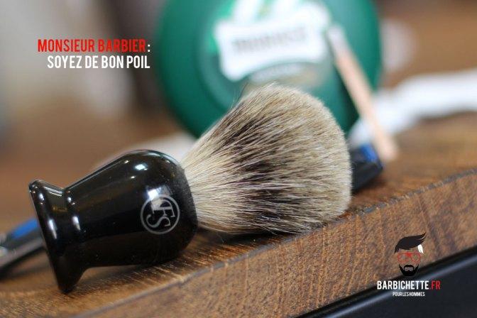 Monsieur Barbier - Le Blaireau