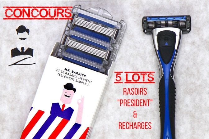 Concours - 5 rasoirs & ses recharges
