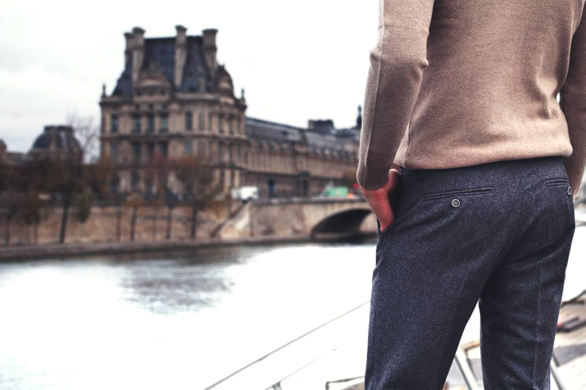 Le Pantalon Flanelle